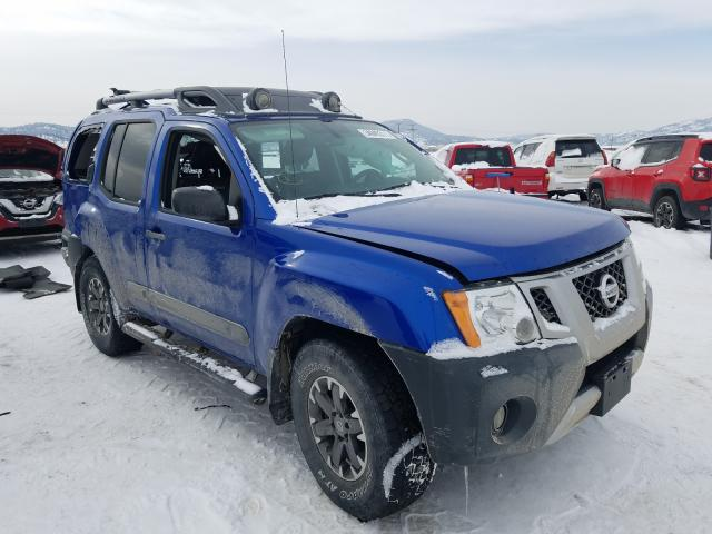 Nissan salvage cars for sale: 2015 Nissan Xterra X
