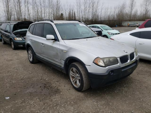 Salvage cars for sale from Copart Arlington, WA: 2004 BMW X3 3.0I