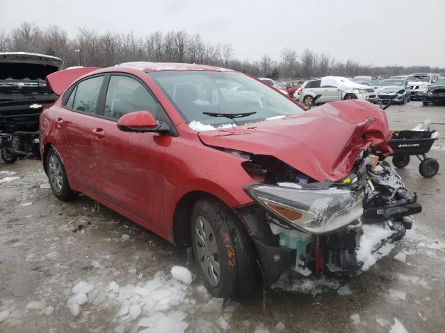 Vehiculos salvage en venta de Copart Louisville, KY: 2020 KIA Rio LX
