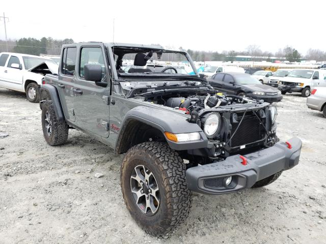 Salvage SUVs for sale at auction: 2020 Jeep Wrangler U