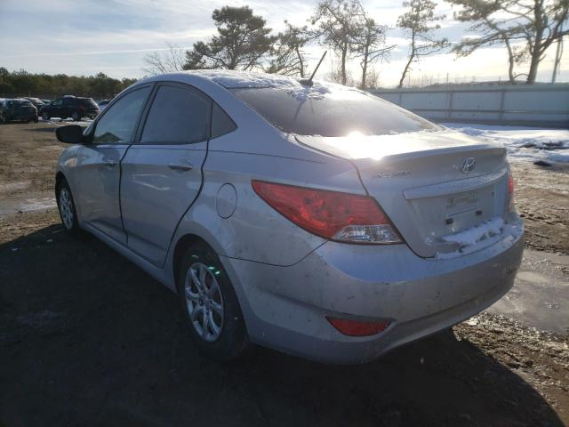 2013 HYUNDAI ACCENT - Right Front View