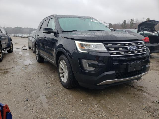 Salvage cars for sale from Copart Hampton, VA: 2017 Ford Explorer X