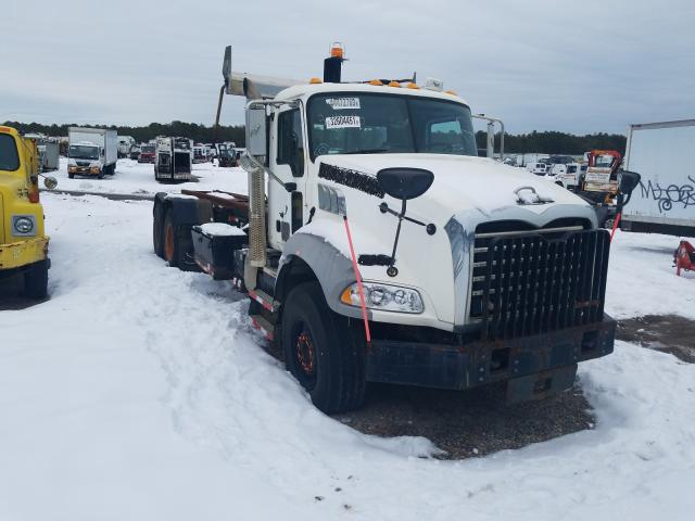 Salvage cars for sale from Copart Brookhaven, NY: 2012 Mack 800 GU800