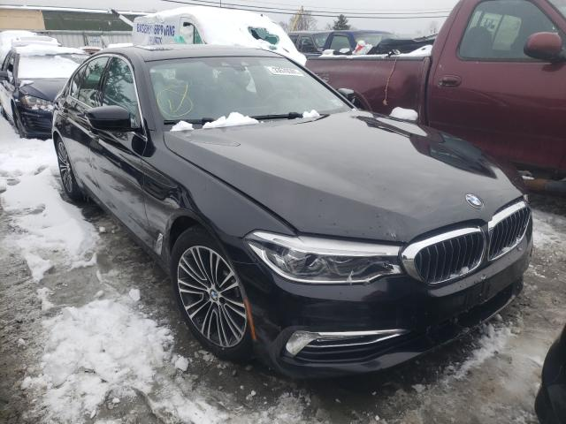 BMW 540 XI salvage cars for sale: 2017 BMW 540 XI