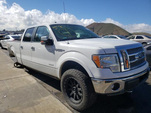 Salvage cars for sale from Copart Colton, CA: 2012 Ford F150 Super