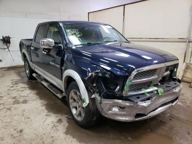 Salvage cars for sale from Copart Davison, MI: 2012 Dodge RAM 1500 L
