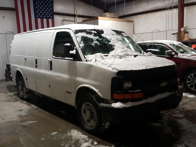 Salvage cars for sale from Copart Billings, MT: 2004 Chevrolet Express G2