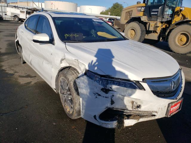 Salvage cars for sale from Copart Martinez, CA: 2017 Acura TLX Tech