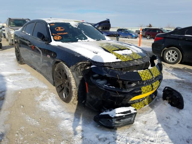 Salvage cars for sale from Copart Kansas City, KS: 2017 Dodge Charger R