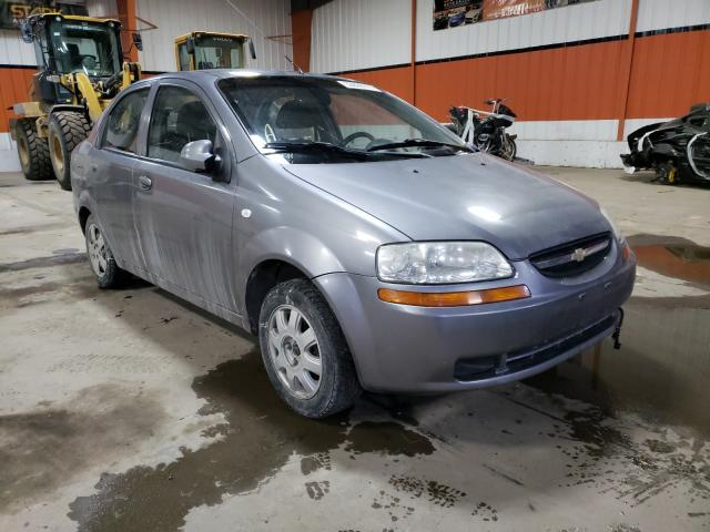 Chevrolet salvage cars for sale: 2006 Chevrolet Aveo Base