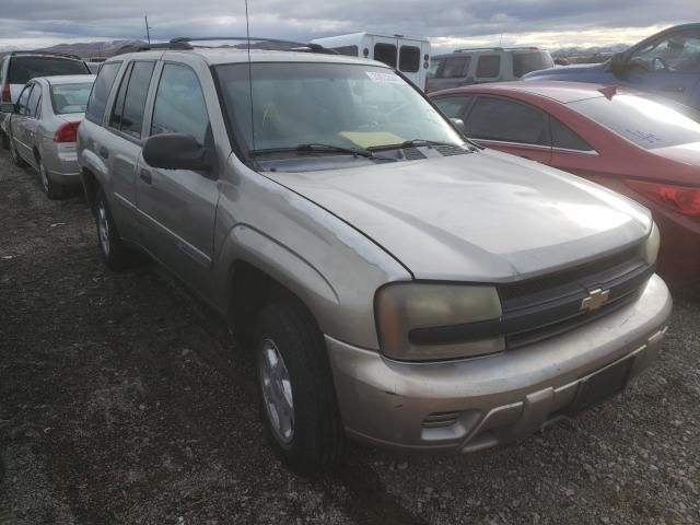 Salvage cars for sale from Copart Reno, NV: 2002 Chevrolet Trailblazer