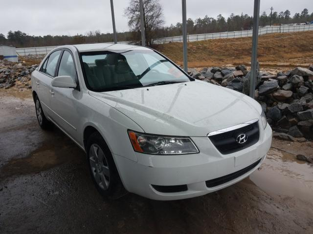 Salvage cars for sale from Copart Gaston, SC: 2007 Hyundai Sonata GLS