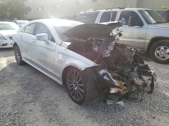 Salvage cars for sale from Copart Opa Locka, FL: 2015 Mercedes-Benz CLS 400 4M