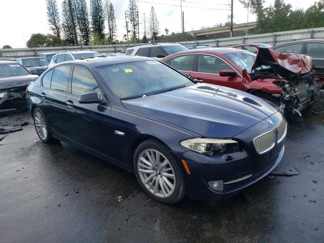 Salvage 2011 BMW 5 SERIES - Small image. Lot 34148361