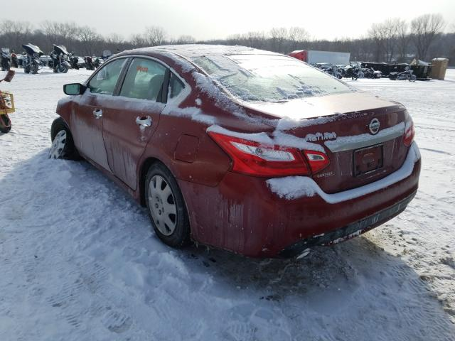 2017 NISSAN ALTIMA 2.5 - Right Front View
