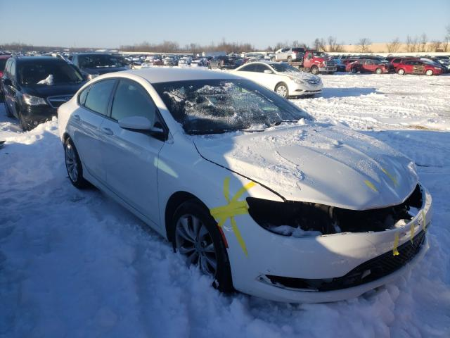 Salvage cars for sale from Copart Bridgeton, MO: 2015 Chrysler 200 S
