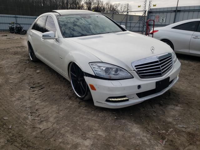 Salvage cars for sale from Copart Hampton, VA: 2012 Mercedes-Benz S 550 4matic