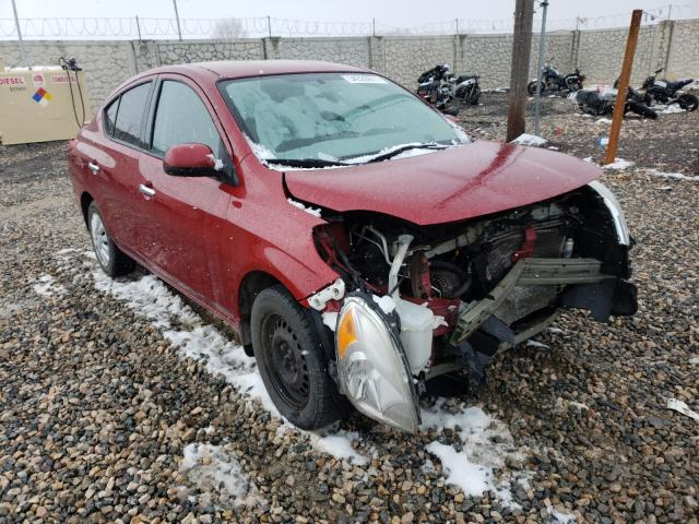 Salvage cars for sale from Copart Farr West, UT: 2014 Nissan Versa S