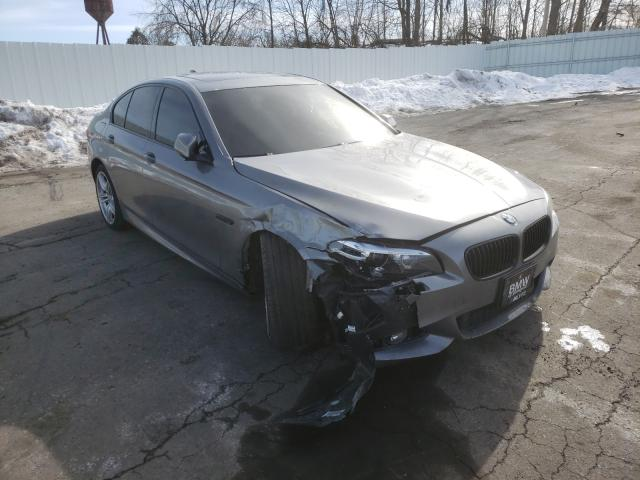 Salvage cars for sale from Copart Marlboro, NY: 2015 BMW 550 XI