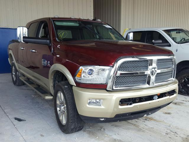 Salvage cars for sale from Copart Homestead, FL: 2016 Dodge RAM 2500 Longh