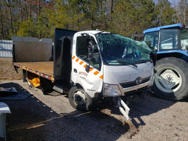 Salvage cars for sale from Copart Charles City, VA: 2020 Hino 195