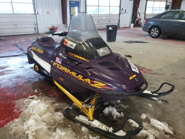 Skidoo Snowmobile salvage cars for sale: 1999 Skidoo Snowmobile