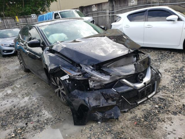 Salvage cars for sale from Copart Opa Locka, FL: 2017 Nissan Maxima 3.5