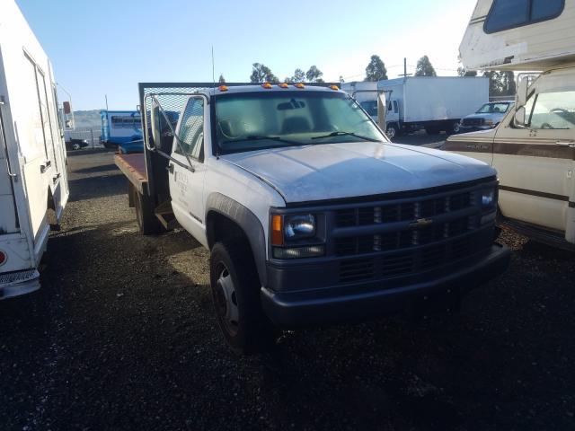 Salvage trucks for sale at Vallejo, CA auction: 2002 Chevrolet Silverado