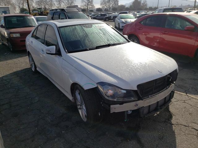 Salvage cars for sale from Copart Colton, CA: 2013 Mercedes-Benz C 250