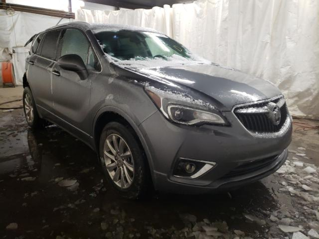 Salvage cars for sale from Copart Ebensburg, PA: 2020 Buick Envision E