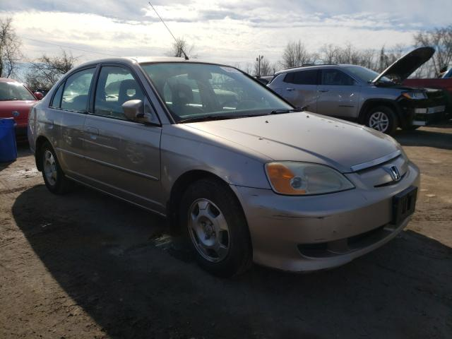 Salvage cars for sale from Copart Baltimore, MD: 2003 Honda Civic Hybrid