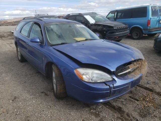 Salvage cars for sale from Copart Reno, NV: 2002 Ford Taurus SE