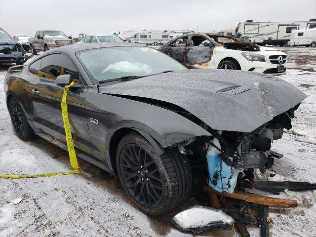 Vehiculos salvage en venta de Copart Brighton, CO: 2020 Ford Mustang GT