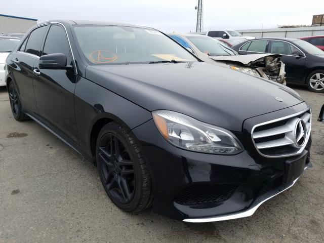 Salvage cars for sale from Copart Fresno, CA: 2014 Mercedes-Benz E 350