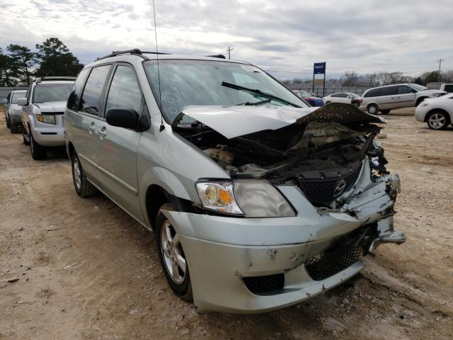 Salvage cars for sale from Copart Newton, AL: 2002 Mazda MPV Wagon