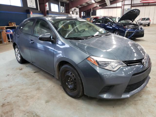 Salvage cars for sale from Copart East Granby, CT: 2014 Toyota Corolla L