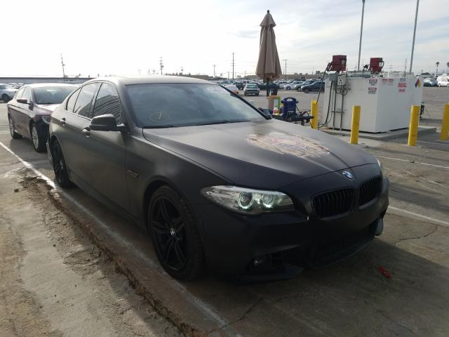 Salvage cars for sale from Copart Sun Valley, CA: 2016 BMW 535 I