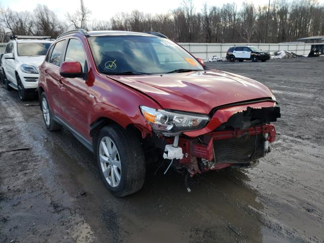 Mitsubishi Vehiculos salvage en venta: 2015 Mitsubishi Outlander