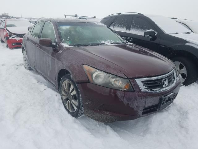 2008 HONDA ACCORD - Left Front View