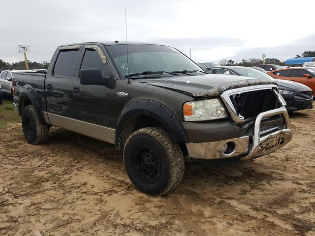 Salvage cars for sale from Copart Newton, AL: 2008 Ford F150 Super