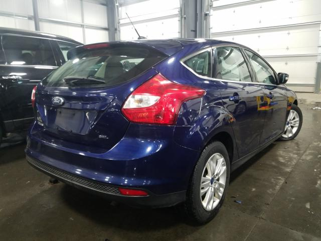 2012 FORD FOCUS SEL - Right Rear View