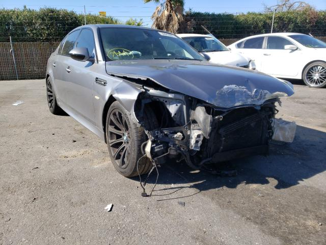 BMW M5 salvage cars for sale: 2010 BMW M5