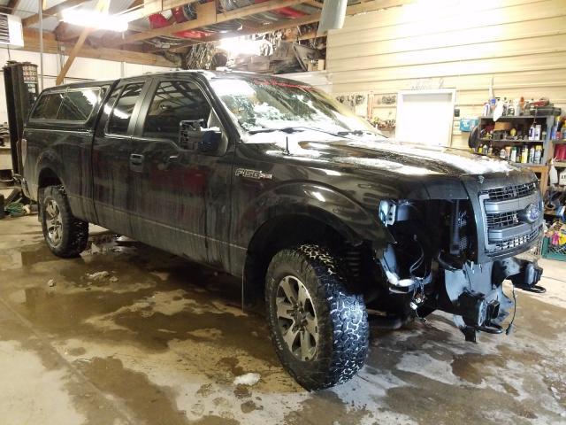 Vehiculos salvage en venta de Copart Billings, MT: 2013 Ford F150 Super