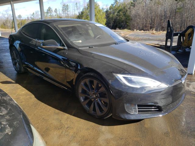 Salvage cars for sale from Copart Concord, NC: 2016 Tesla Model S