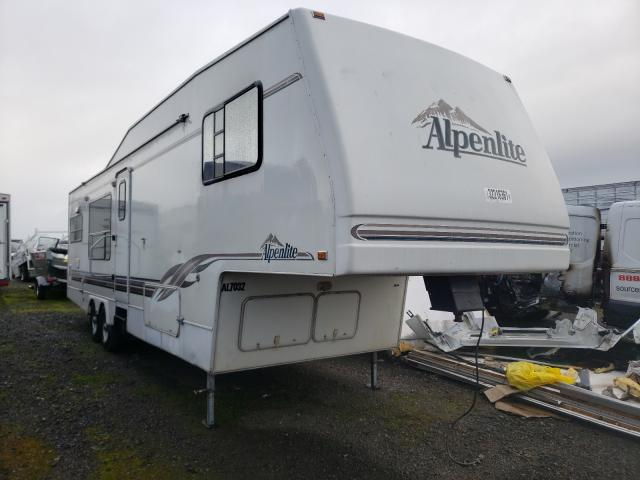 Keystone Alpine salvage cars for sale: 1997 Keystone Alpine