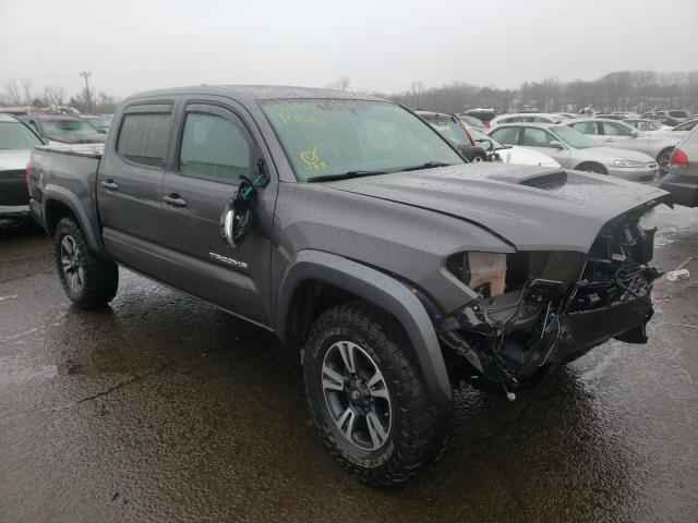 Salvage cars for sale from Copart New Britain, CT: 2017 Toyota Tacoma DOU