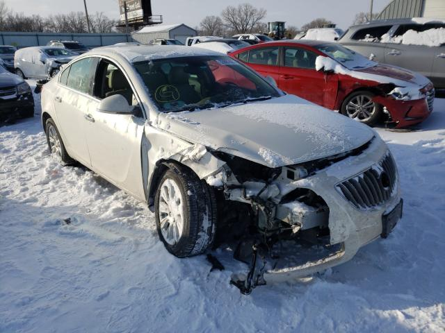 Salvage cars for sale from Copart Wichita, KS: 2012 Buick Regal Premium