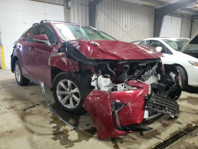 Salvage cars for sale from Copart West Mifflin, PA: 2017 Lexus RX 350 Base