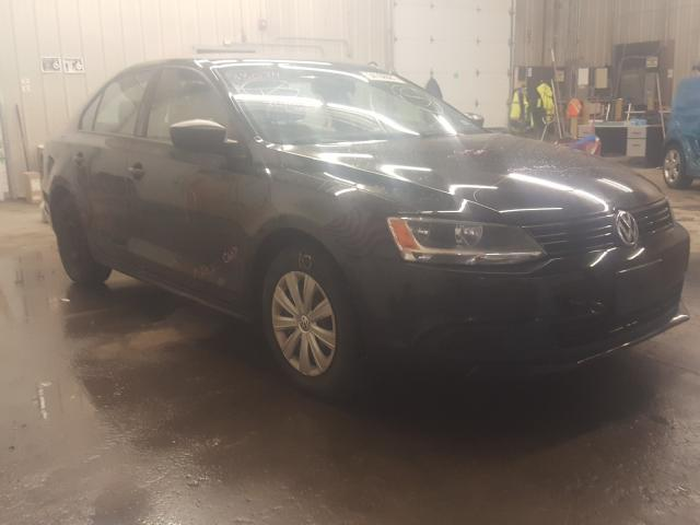 Salvage cars for sale from Copart Candia, NH: 2014 Volkswagen Jetta Base