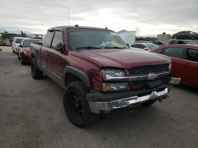 Salvage cars for sale from Copart Tucson, AZ: 2004 Chevrolet Silverado